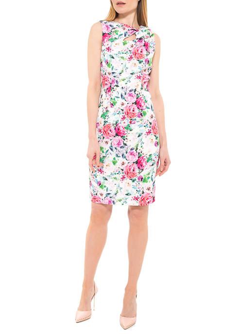 Alexia Admor Womens Harper Neck Cutout Dress