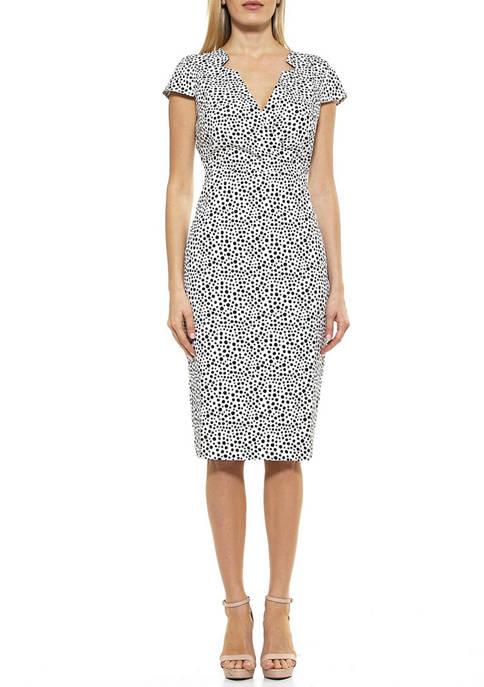 Womens Ava Surplice Dress