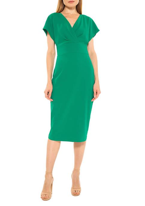 Alexia Admor Womens Naomi Sheath Dress