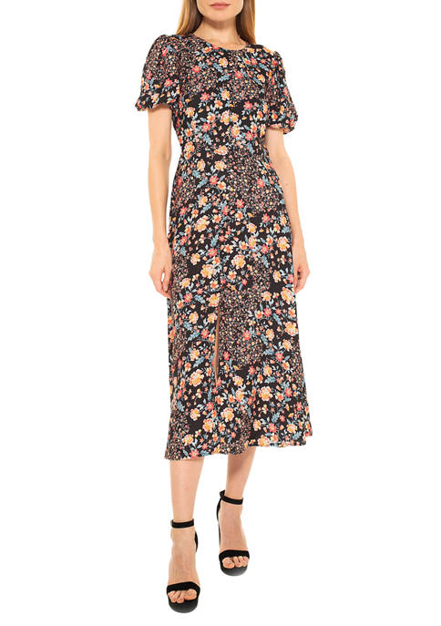 Alexia Admor Womens Katie Midi Dress