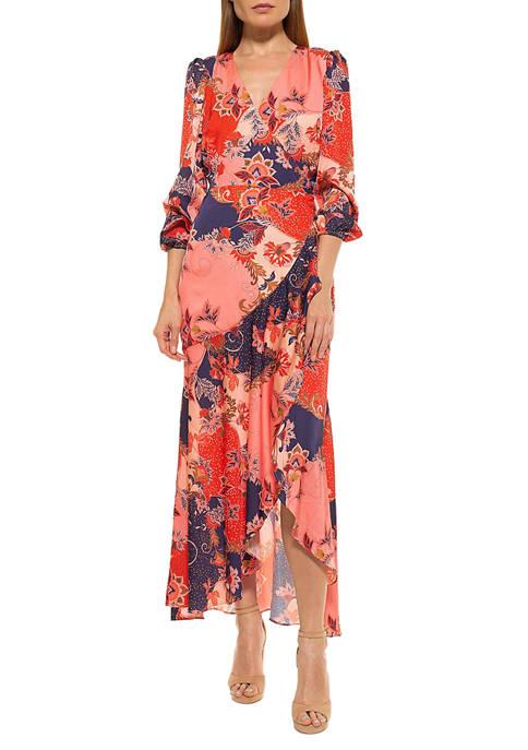 Alexia Admor Womens Tala Maxi Dress