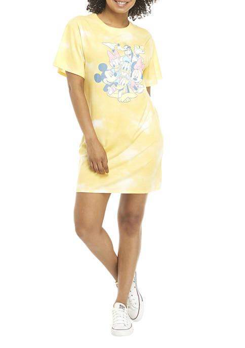 Disney® Juniors Short Sleeve Graphic Dress