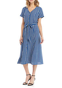 a12bf52c69 ... AGB Short Sleeve Long Boyfriend Shirt Dress