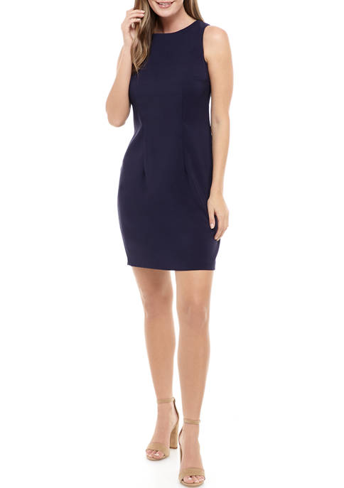 AGB Womens Sheath Dress