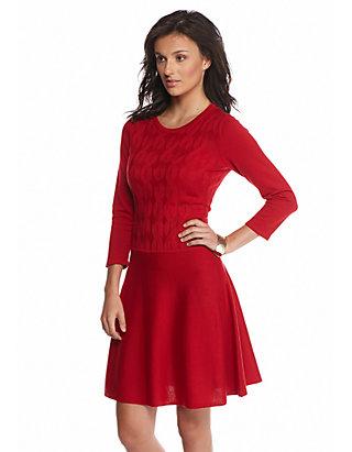 1c15d9c0e22 Nine West. Nine West Cable Knit Sweater Dress