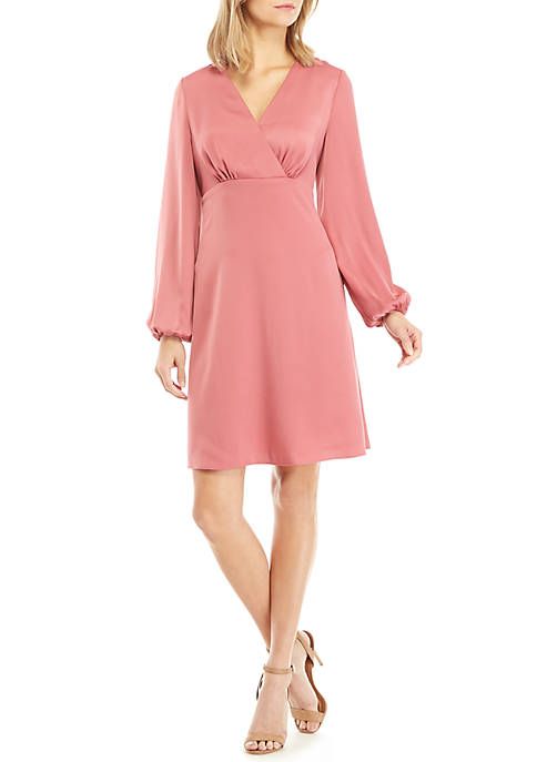 Long Sleeve Empire Waist Dress