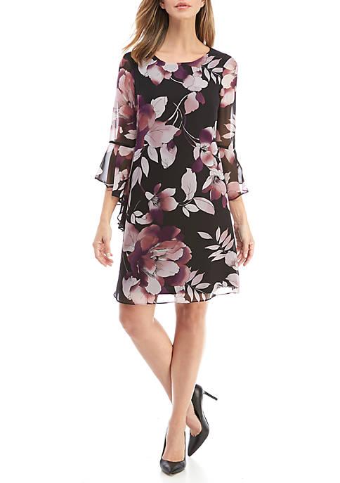 Nine West Floral Shift Dress