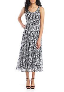 da12dd0400d3e ... Nine West Sleeveless Multi Tier Maxi Dress