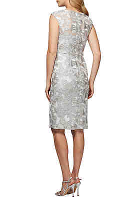 89fafbaacc3 ... Alex Evenings Short Cap Sleeve Dress