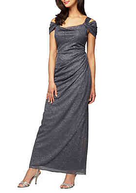 378df8ba5c8 Alex Evenings Cold Shoulder Gown ...