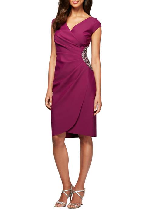 Short Cap Sleeve Dress