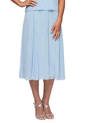 349494d7ee412 Alex Evenings T-Length Skirt ...