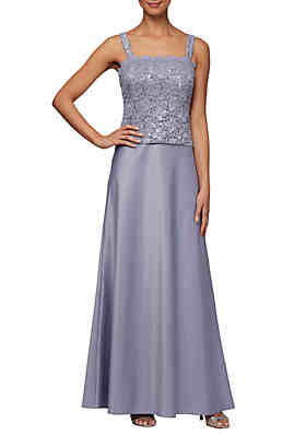 a7b72d189cf0e ... Alex Evenings Lace and Sequin Mock 2 Piece Gown with Jacket
