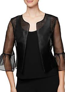 Bell Sleeve Illusion Jacket