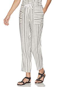 Vince Camuto Stripe Linen Pants