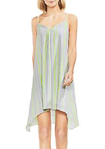 Striped Gauze Cami Dress
