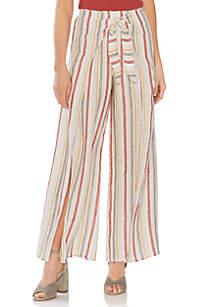 Vince Camuto Multi Stripe Linen Pants