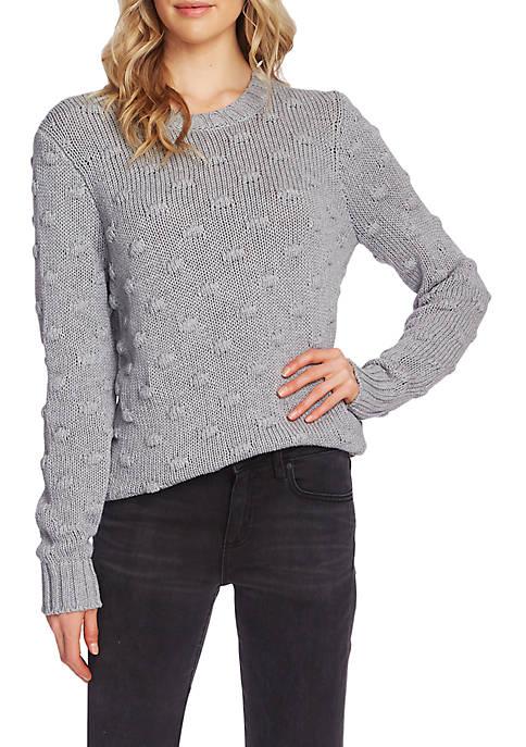 Popcorn Crew Neck Sweater