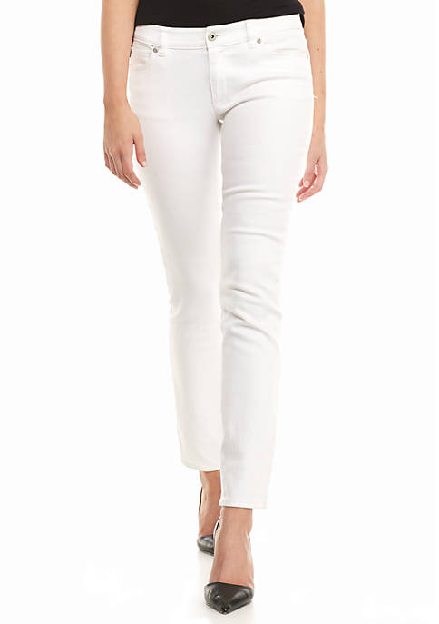Vince Camuto Five Pocket Slim Leg Jeans