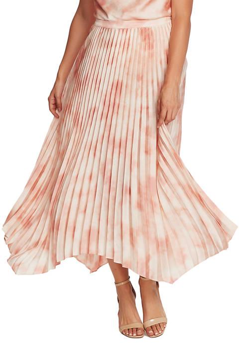 Womens Tie Dye Crinkle Skirt