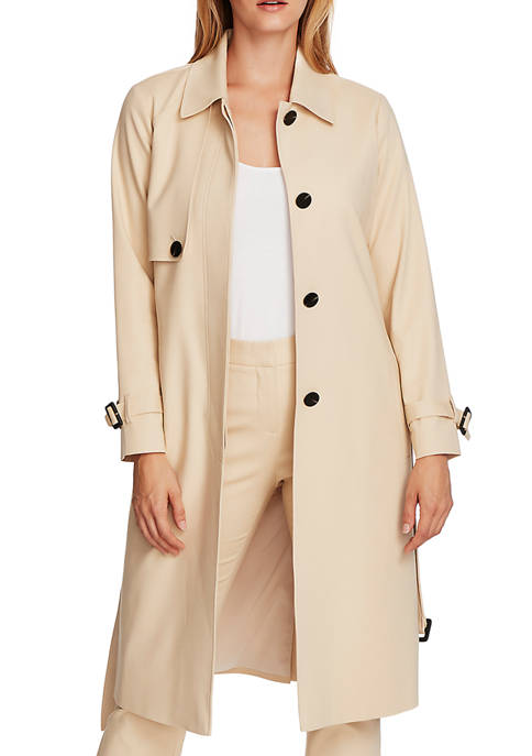 Womens Belted Trench Coat