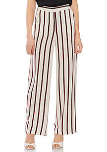 Vince Camuto Wide Leg Stripe Pants