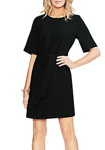 Vince Camuto Tie Front Sheath Dress