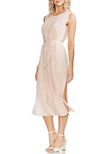 Vince Camuto Pleated Car Wash Dress