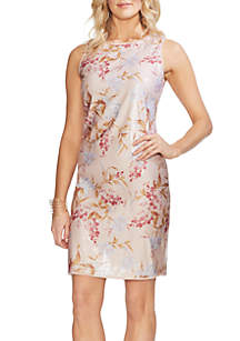 Vince Camuto Wildflower Sequin Dress