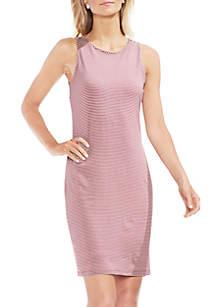 Sleeveless Chantelle Pinstripe Dress