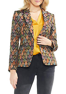 Tapestry 1-Button Blazer