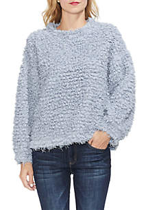Eyelash Knit Sweater