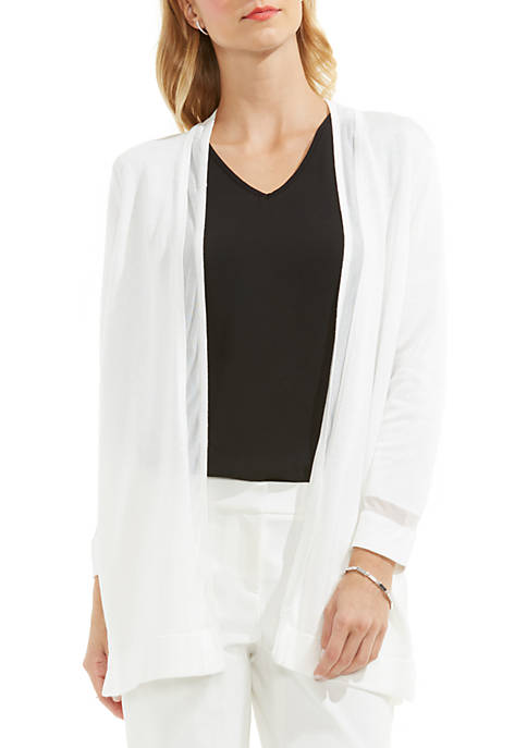 Vince Camuto Open Front Cardigan