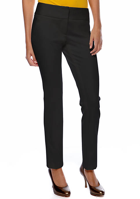 Womens Ponte Ankle Pants