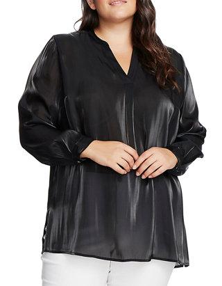 Plus Size Rich Long Sleeve Top