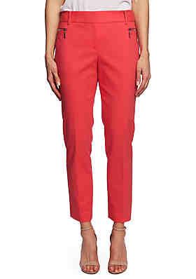 58da60fde6a6c CHAUS Dena Zipper Pocket Pants ...