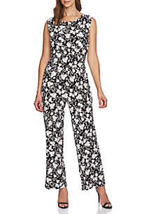 CHAUS Printed Charm Jumpsuit