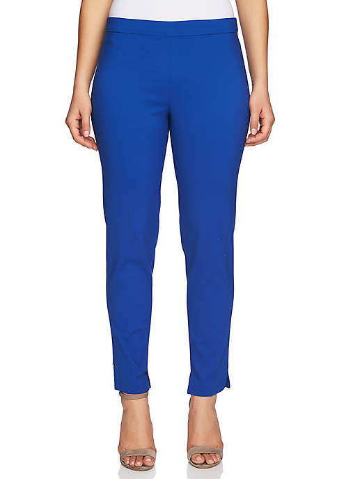 CHAUS July Pull-On Pant with Ankle Slit