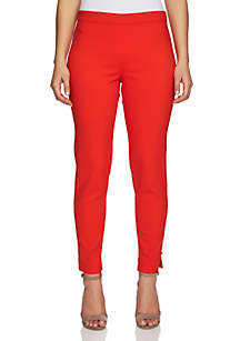 July Pull-On Pant with Ankle Slit