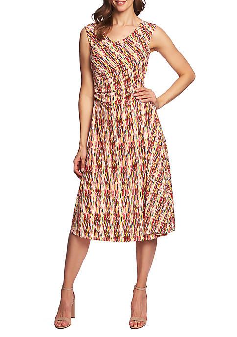 CHAUS Sleeveless Sahara Sunrise Dress