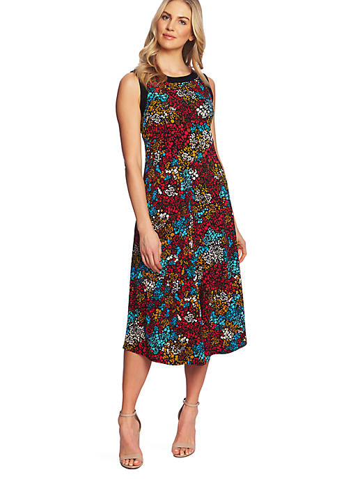 Sleeveless Mayan Floral Dress