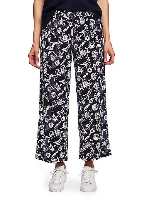 CHAUS Batik Floral Pants