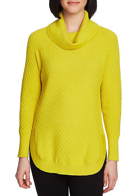 Womens Long Sleeve Cowl Neck Sweater