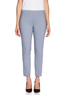 Pull-On Pants with Leg Slits