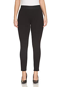 Ponte Ankle Zip Leggings