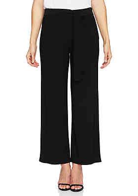 0637035f4a CHAUS Tie Waist Matte Jersey Pants ...