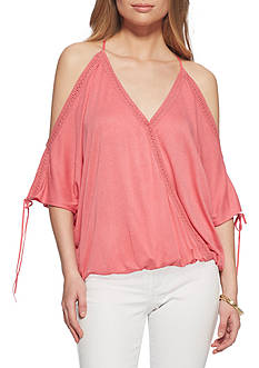 Jessica Simpson Nalana Cold Shoulder Top