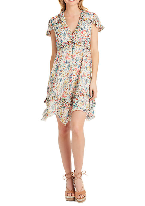Wholesale Jessica Simpson Bliss Ruffle Dress for cheap