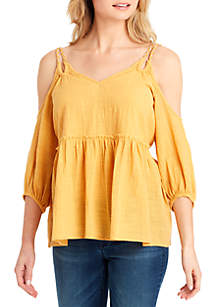 Elizabeth Cold Shoulder Top