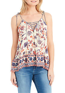 Ceri Lace-Up Tank